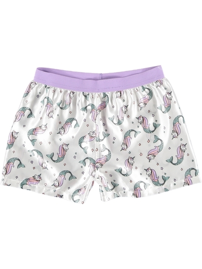 Girls Satin Boxer