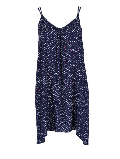Womens Hi Low Print Dress