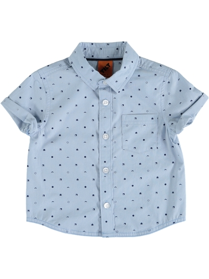 Toddler Boys Short Sleeve Shirt