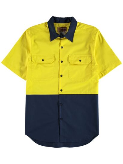 Mens Hi-Vis Work Shirts