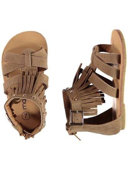 Toddler Girl Fringe Sandal