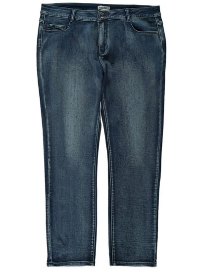 Womens Embellished Denim Jean