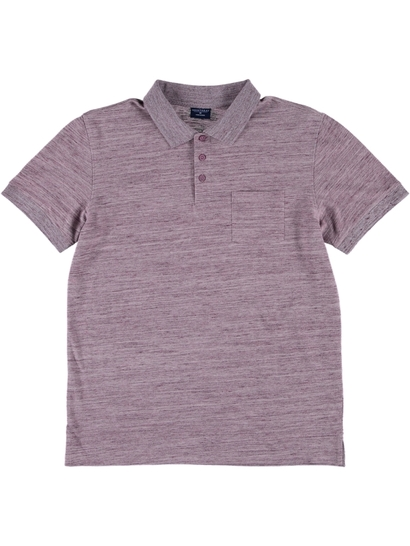 Mens Slub Polo Shirt