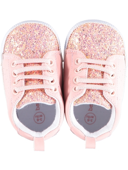 Baby Girl Soft Sole Glitter Runner