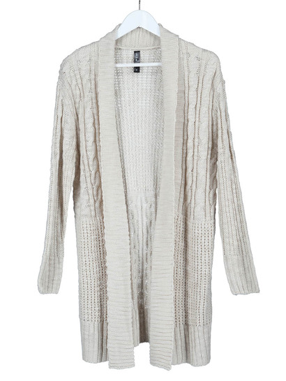 Cable Knit Cardigan Womens