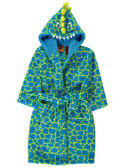 Boys Coral Fleece Gown