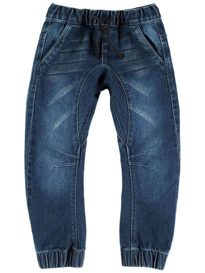 Boys Cuffed Denim Jean
