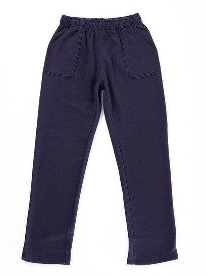 NAVY BLUE KIDS FLEECE TRACKPANTS