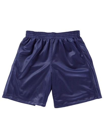 NAVY BLUE BOYS MESH REVERSIBLE SHORTS