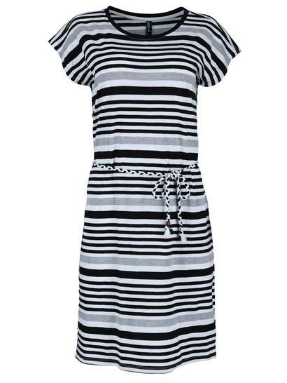 Womens Jersey Plaited Belt Dress