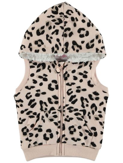 Toddler Girls Hooded Vest