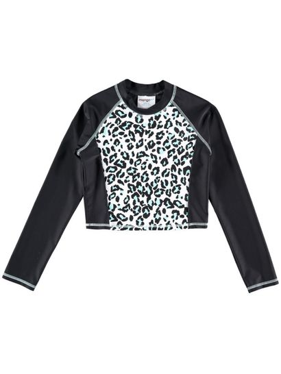 Girls Print Rashi Long Sleeve