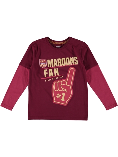 Youth State Of Origin L/S Tee