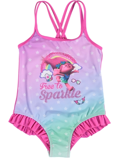 Toddler Girls Trolls Swimsuit