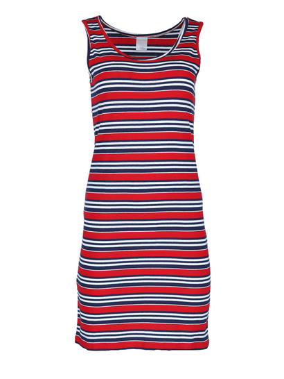 Plus Womens Cotton Tank Dress