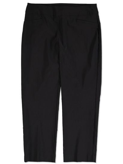 PULL ON BENGALINE CROP PANT WOMENS
