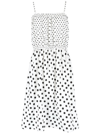 Womens Cotton Spot Dress