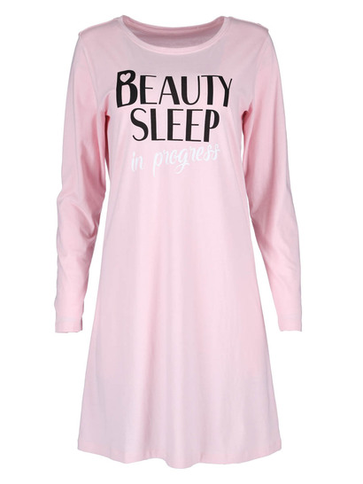 Long Sleeve Knit Nightie