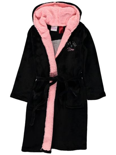 Girls Fashion Coral Fleece Gown