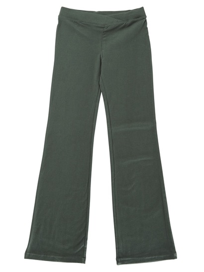 BOTTLE GREEN GIRLS JAZZ PANTS