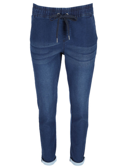Womens Relaxed Denim Pant