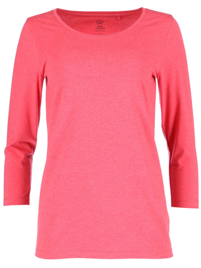 Womens Cotton Blend 3/4 Sleeve Top