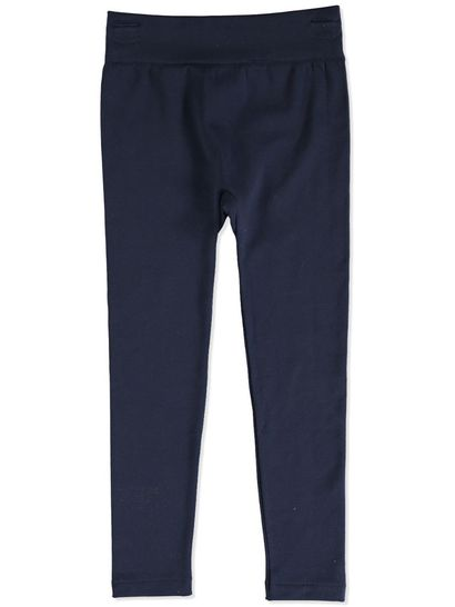 NAVY BLUE GIRLS FLEECE LEGGINGS