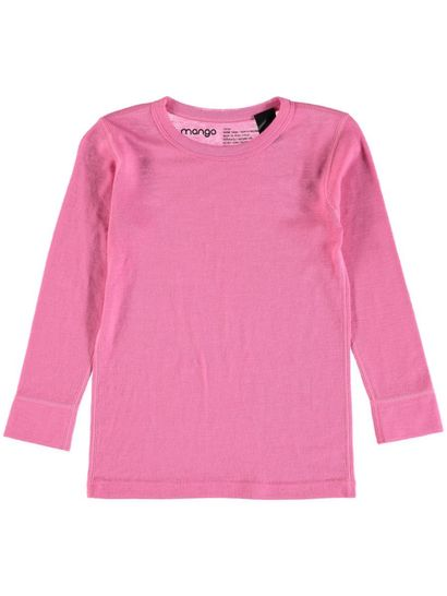 Girls Long Sleeve Merino Thermal Top