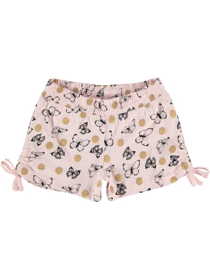 Toddler Girls Knit Shorts