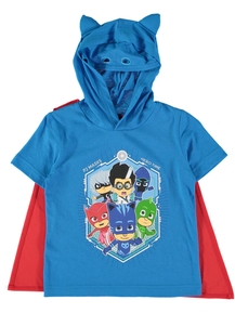 Boys PJ Masks Novelty T-Shirt