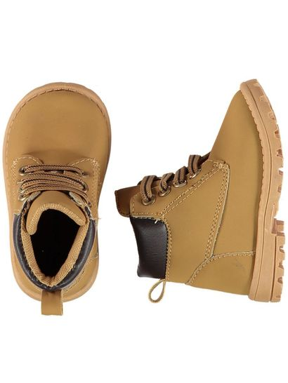 Baby Boy Hard Sole Boot