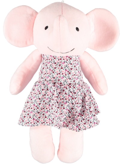 Dress Up Elephant Plush