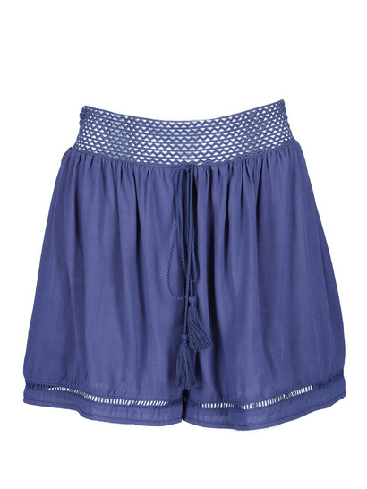 Miss Mango Exposed Elastic Waist Short