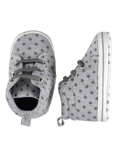 Baby Boy Soft Sole Star High Top