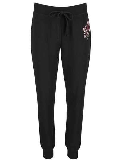 Womens Embroidered Trackpant