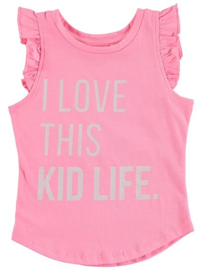 Toddler Girls Printed Tank Top