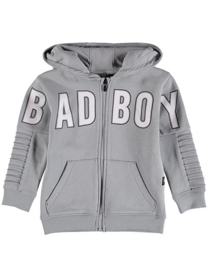 Boys Badboy Fleece Zip Thru Hoodie