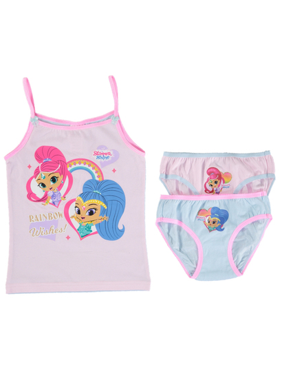 Girls Licence Underwear Pack - Shimmer & Shine