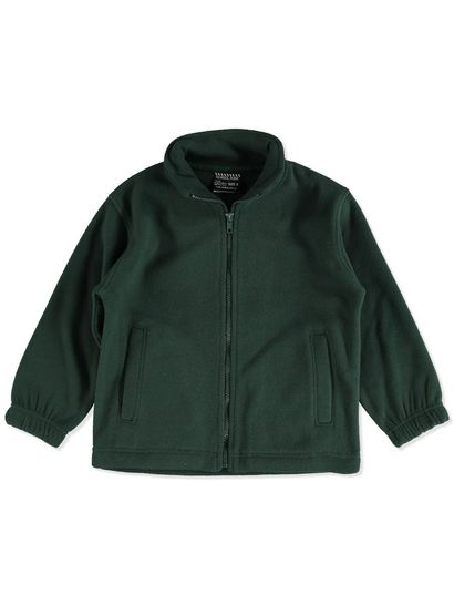 BOTTLE GREEN KIDS POLAR FLEECE JACKET