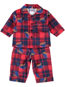 Toddlers Afl Flannel Pjs