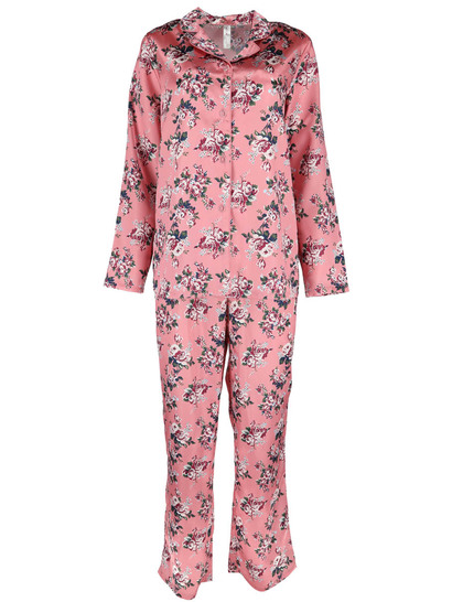 Womens Satin Pyjama Set