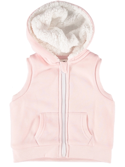 Baby Sherpa Lined Hooded Vest
