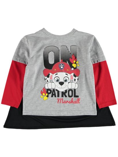 Boys Paw Patrol Caped T-Shirt