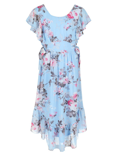 Girls Floral Maxi Dress