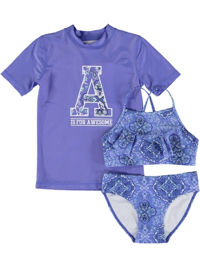 Girls Boho Swim Set