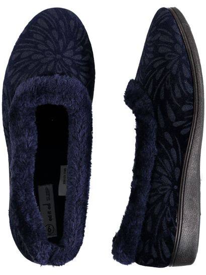 Women Fur Trim Slipper
