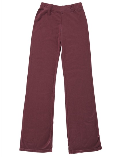 MAROON GIRLS JAZZ PANTS
