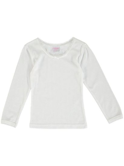 Girls Long Sleeve Thermal Top