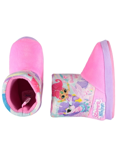 Toddler Girls Shimmer & Shine Slipper Boots