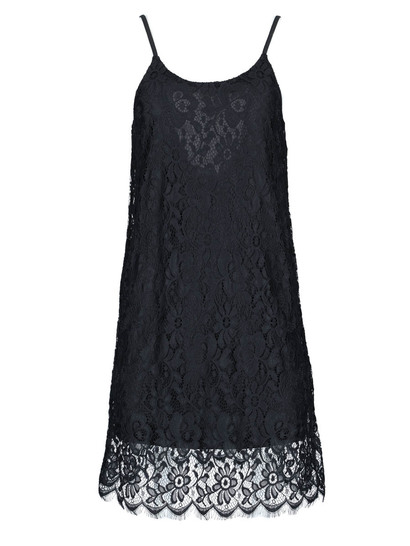 Miss Mango Double Lace Mini Dress